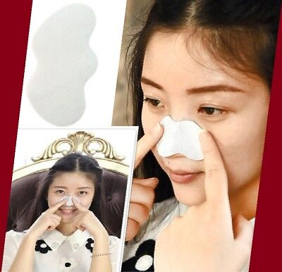 60 to 3 white Strips Nose Pore Cleansing Blackhead Remover Peel Off Nose Sticker