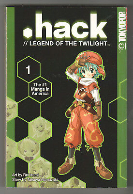 .Hack // Legend of the Twilight Vol. 1 (TokyoPop, 2003) Graphic Novel / Manga