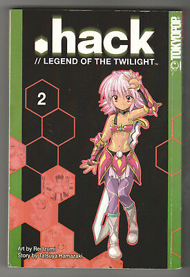 .Hack // Legend of the Twilight Vol. 2 (TokyoPop, 2003) Graphic Novel / Manga