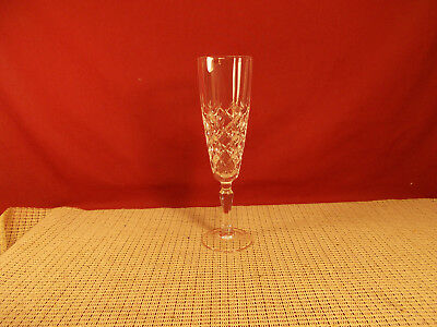 """Cristal d'Arques Crystal Dauphine Pattern Champagne Flute 7 7/8"""""""