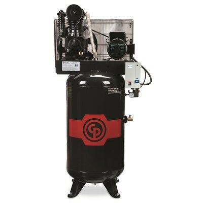Chicago Pneumatic RCP-C581VS/5HP Iron Series 2-Stage Electric Simplex Compressor