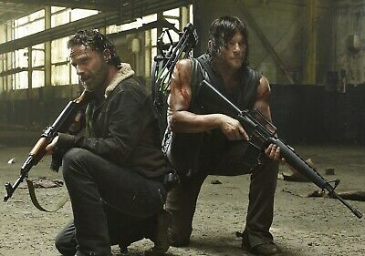 THE WALKING DEAD TV Show PHOTO Print POSTER Series Art Rick Grimes Daryl Dixon 4
