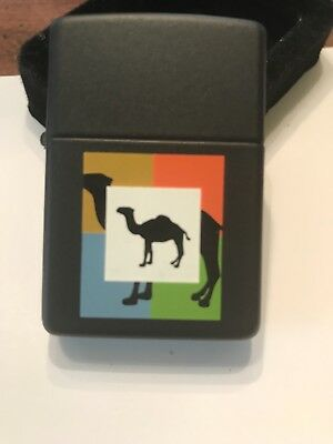 Vintage 1996 Zippo two camels lighter Unfired made in Bradford, Pa. C XII