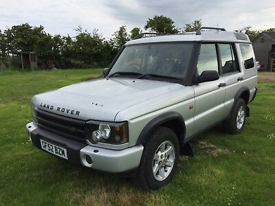 Land Rover discovery td5 7 seater