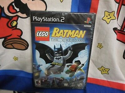 Playstation 2 Lego Batman The Videogame Game Brand New Sealed