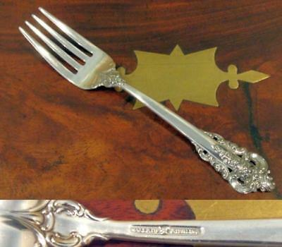 GRANDE BAROQUE Individual Salad Fork No Mono Pristine Condition