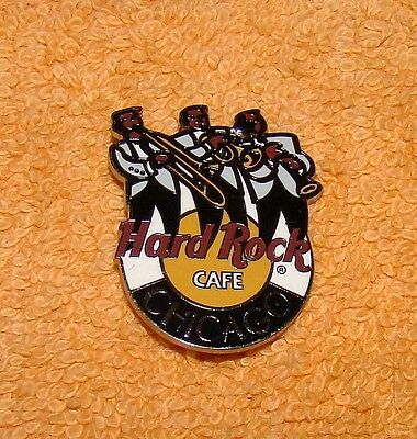 Hard Rock Cafe Pin Chicago Jazz Festival Horns Trio