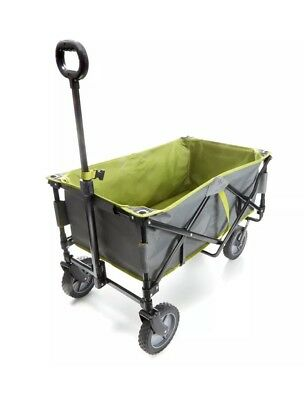 Foldable Beach Trolley Summer Storage Transportable Move Carry 100kg Capacity