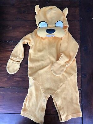 Adventure Time Jake Baby Costume One piece 0-6 Months Halloween infant Finn