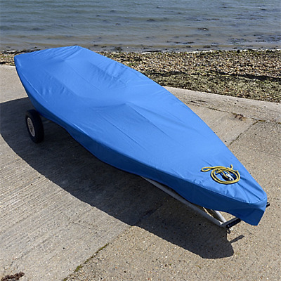 Laser Dinghy Sailboat Deck Cover - Tailored - Blue (125B)