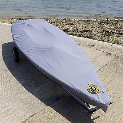 Laser Dinghy Sail Boat Deck Cover - Tailored - Grey (125G)