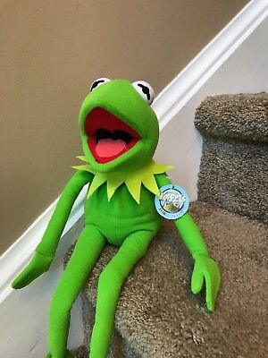 Kermit fhe Frog 18 inch plush with posable legs and arms