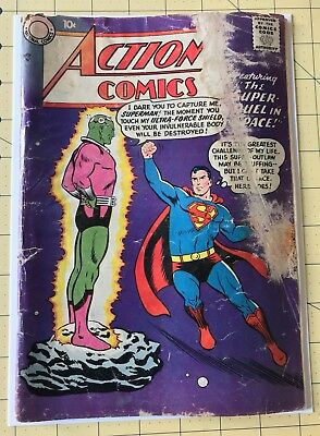 Action Comics 242 First Appearance Of Braniac