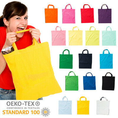 Cotton Bag Case Cotton Tote Bag Cotton 38x42cm short Handle