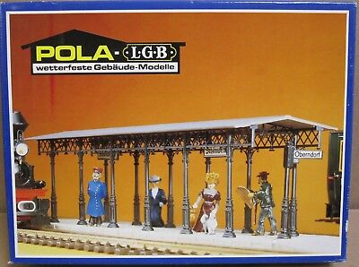 POLA/LGB 908 Covered Station Platform Kit NOS