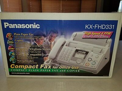 Panasonic KX-FHD331 Fax Copier Integrated Telephone System Caller ID