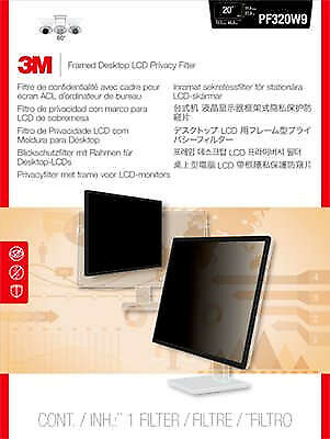 "3M PF200W1F 20.1"" Monitor Framed display privacy filter - PF200W1F"