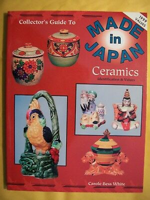 MADE IN JAPAN POTTERY PRICE GUIDE BOOK Include Planter Salt Pepper Ashtrays more