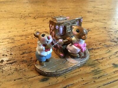 "Wee Forest Folk ""Mouse Duet"" 1978 M-29"
