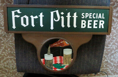 Fort Pitt Special Beer Lighted Sign ROG Pittsburgh PA