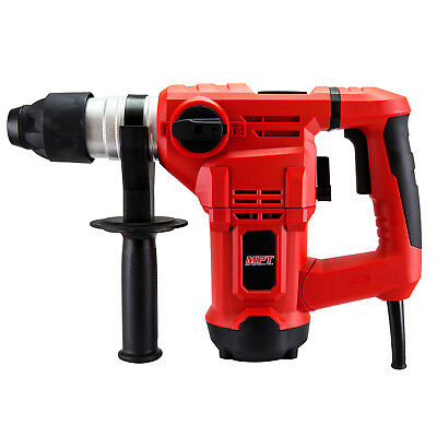 MPT Electric Hammer Drill 3in1 Demolition Rotary Jack Power Jackhammer & 5PC Kit