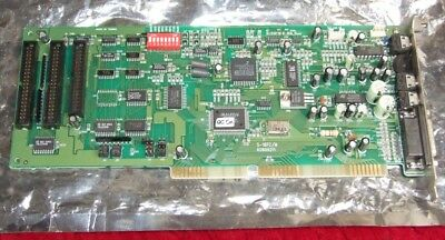 Media Vision Jazz 16 (Philips?) 16-bit ISA sound card for 286 386 486 computer