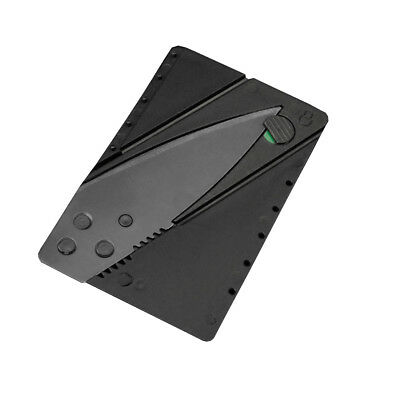 New Cardsharp Credit Card Folding Razor Sharp Wallet Knife Survival Tool Thin