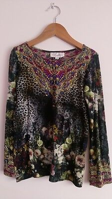 Girls Camilla long sleeved top, Size 6