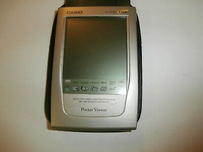PV 5450 Casio Pocket Viewer PDA ORGANIZER VINTAGE RARE 4MB - FREE POST