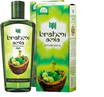 Bajaj Brahmi Amla 100%  Ayurvedic Hair Oil - BUY 50 ML GET 100 ML