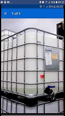 ibc tank 1000 Litre only had vegetable oil and edible substances