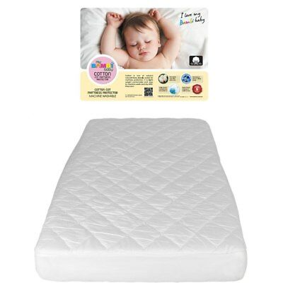NEW Bambi Cotton Cot Mattress Protector from Baby Barn Discounts