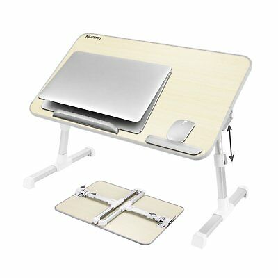 Laptop Tray Foldable Desk Portable Adjustable Stand Notebook Table bed sofa AU