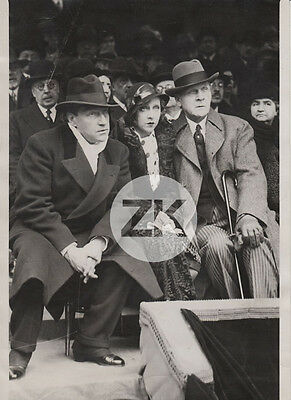 SACHA GUITRY Yvonne PRINTEMPS Fédor CHALIAPINE Cinéma Opéra Photo 1931