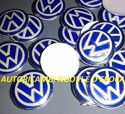 Logo Stemma Telecomando Chiave 14mm Volkswagen Polo Golf Touareg Touran Bettle