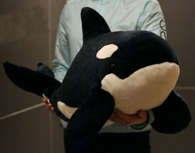 Toy Kid Giant Orca Whale Plush Lifelike Stuffed Animal Child Play