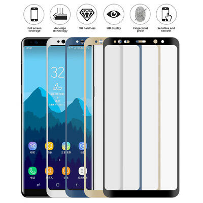 2X Tempered Glass 9H 3D Screen Protector For Samsung Galaxy S8 S7 S6Edge S9 Plus