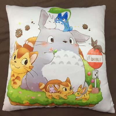 Anime Studio Ghibli My Neighbor Totoro two sided hugging Pillow Case Cover 0100