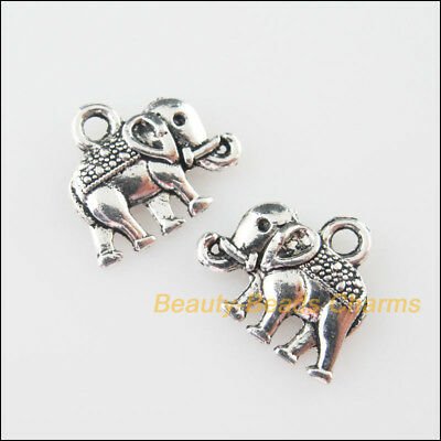 16 New Charms Animal Lovely Elephant Tibetan Silver Tone Pendants 25x26mm