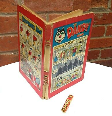 THE DANDY BOOK 1957 vintage comic annual