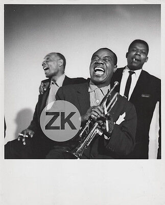 LOUIS ARMSTRONG High Society EDMOND HALL Jazz ARVELL SHAW Musical Photo 1959