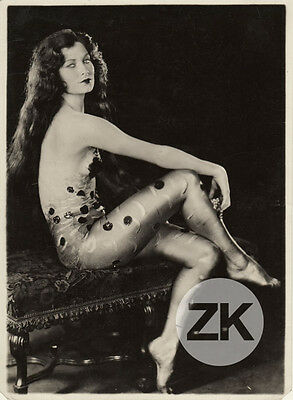 MELVA CORNELL Déshabillé Erotique Broadway FOX MOVIETONE FOLLIES Vamp Photo 1929