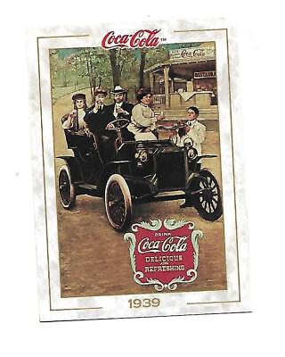 Coca Cola Collection (1993) 1939 # 41 People in Automobile at Restaurant