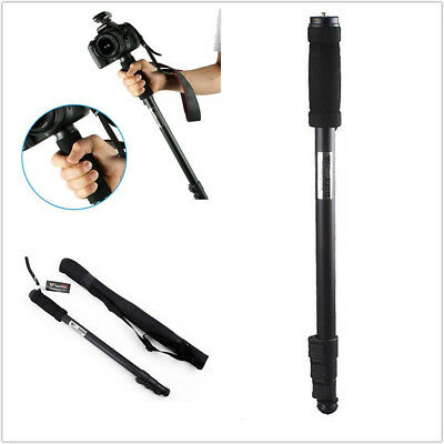 "Extendable 70"" Aluminium Walking Stick Monopod Unipod Pole for DSLR Camera"