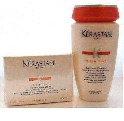 Kerastase Magistral Shampoo & Masque Duo Set Severely Dried-out Hair 200ml