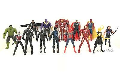 Marvel Avengers Infinity War lot de 14 Figurines Ironman Thanos modèles statues