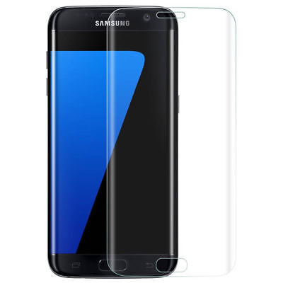 For Samsung Galaxy S7 S8 S9 plus Edge Full Cover Tempered Glass Screen Protector