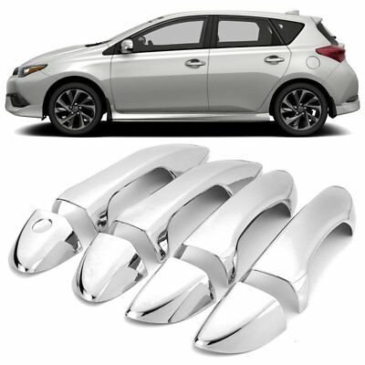 Car Styling Chrome Side Door Handle Cover Trim For Toyota For Corolla 2014-17 E