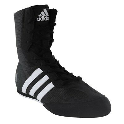 ADIDAS BOXHOG II BOXING SHOES - BLACK Size - UK 10.5