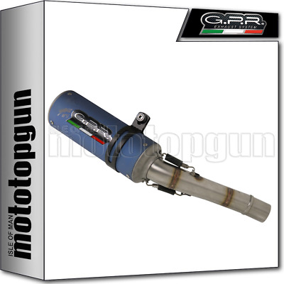Gpr Hom Slip-On Exhaust M3 Titanium Mv Agusta Brutale 675 Dragster 2013 13